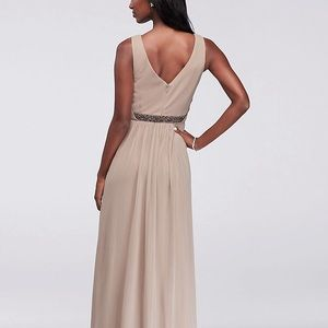 David's Bridal Dresses - Wine formal dress David's bridal